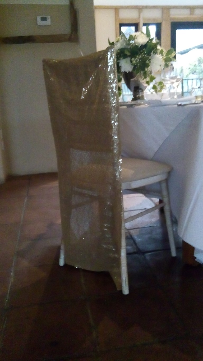 Wedding House - Chiavari Chair Dressing