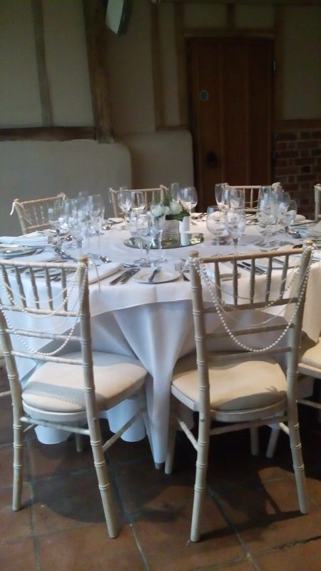 Wedding House - Chiavari Chair Hire